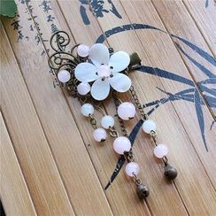 Rivermoon - 花形垂饰发夹