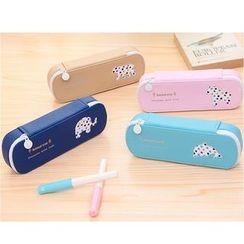 School Time - Animal Pencil Case