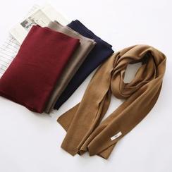布丁坊 - 纯色围巾