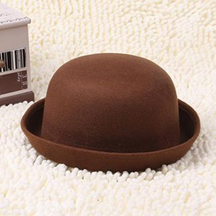 卿本佳人 - 羊毛呢圓頂禮帽