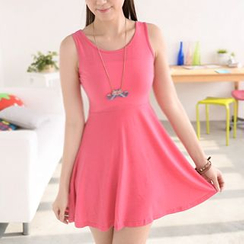 59 Seconds - Sleeveless Skater Dress