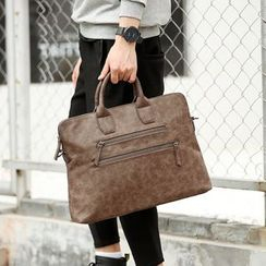 BagBuzz - Zip Detailed Briefcase