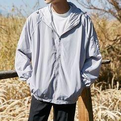 Arthur Look - Lettering Hooded Jacket