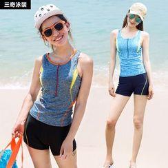 rosiwini - Set: Swim Tank Top + Swim Shorts