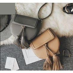 Youshine - Tasseled Crossbody Bag