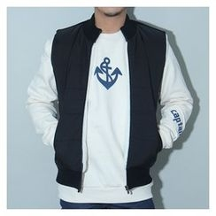 Ohkkage - Brushed-Fleece Lined Zip-Up Vest