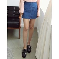 LOLOten - Denim Mini Skirt
