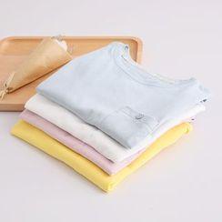 PP家 - 純色短袖T恤