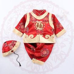 OnCloud - Kids Set: Embroidered Jacket + Pants