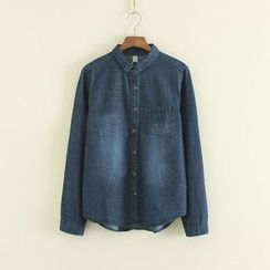 Mushi - Washed Denim Shirt