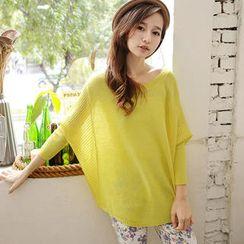 Tokyo Fashion - Dolman-Sleeve Knit Top