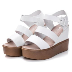 Hannah - Platform Wedge Sandals