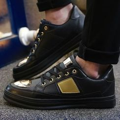 Muyu - Metallic Panel Sneakers