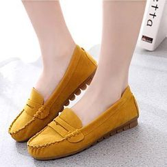 Wello - Bow-Accent Loafers