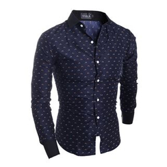 Hansel - Printed Long-Sleeve Shirt