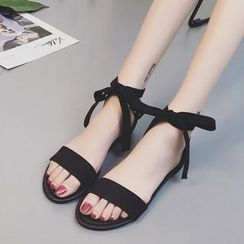Laceuplux - 踝帶涼鞋