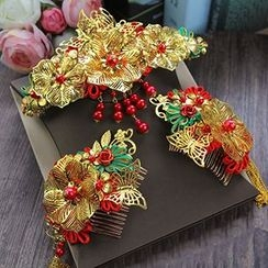 constello - Set of 3: Traditional Embellished Hair Comb