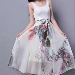 Fashion Street - Print Maxi Skirt