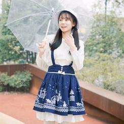 Moricode - Printed Jumper Skirt