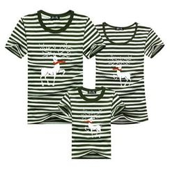 Panna Cotta - Family Matching Deer Print Short-Sleeve T-Shirt