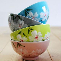 Kawa Simaya - Floral Bowl Set ( 4 pcs)