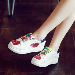 CITTA - Sequined Sneakers