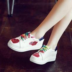 傾城 - 亮片休閒鞋