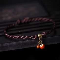 Porcelina - Woven Anklet