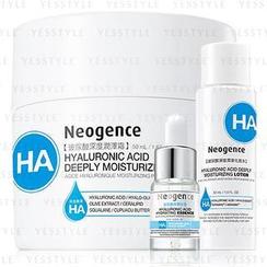 Neogence Hyaluronic Acid Deeply Moisturizing Cream 50ml + Hydrating Essence 6ml + Moisturizing Lotion 200ml