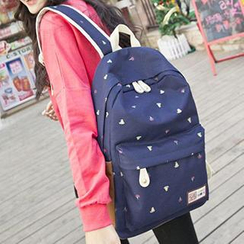 Top Seeka - Print Canvas Backpack