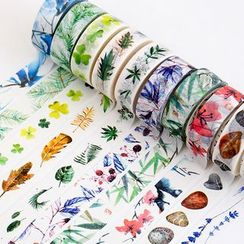 OH.LEELY - Floral Print Masking Tape
