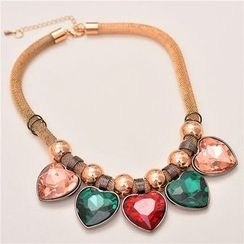 Best Jewellery - Rhinestone Statement Necklace