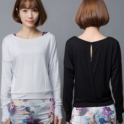 YANBOO - Long Sleeve Yoga Top