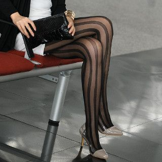 59 Seconds - Striped Tights