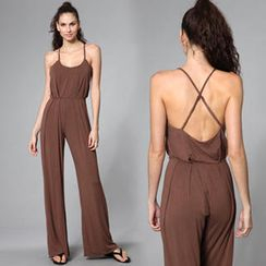 Almaz.C Lifestyle - Cross-Back Jumpsuit