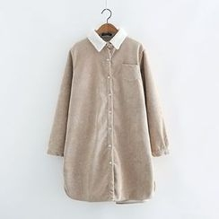 Piko - Corduroy Long Shirt