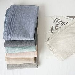 STYLEBYYAM - Colored Linen Scarf