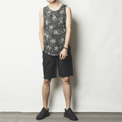 Mr.C studio - Star Printed Tank Top