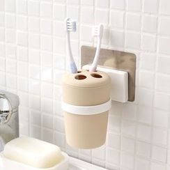 Lazy Corner - Toothbrush Holder