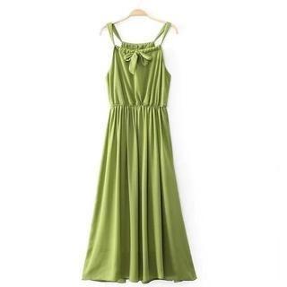 JVL - Bow-Accent Maxi Dress