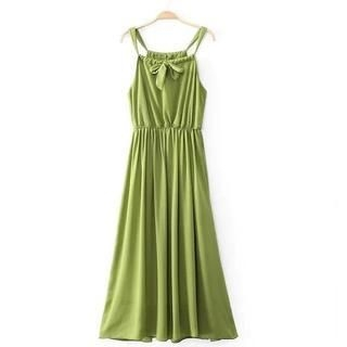 JVL - Bow-Accent Maxi Dress