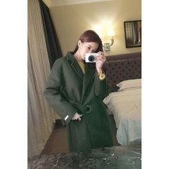 ATTYSTORY - Notched-Lapel Drop-Shoulder Coat