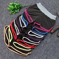 Girasol - Sport Contrast-Trim Shorts