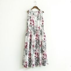 Ranche - Printed Sleeveless Dress
