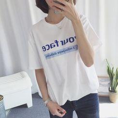 Windbird - 字母短袖T恤