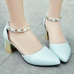Sidewalk - Ankle-Strap Heel Pumps