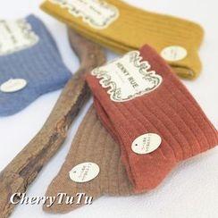 CherryTuTu - Ribbed Socks