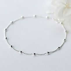 A'ROCH - S925 Silver Ball Anklet