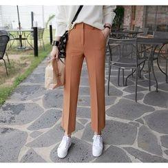 Miamasvin - Pocket-Side Tapered Pants
