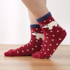 Lazy Corner - Printed Socks
